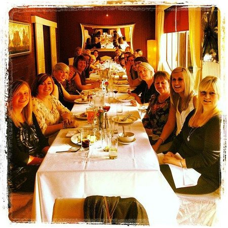 "Casa Mia : ""Ladies who Lunch"" Hen Doo"