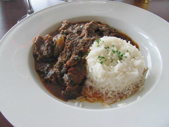 Key Restaurant Maleny: Beef palaver sauce
