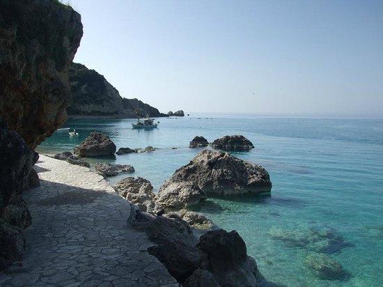 Panorama Villas: the nearest beach Agios Nikitas
