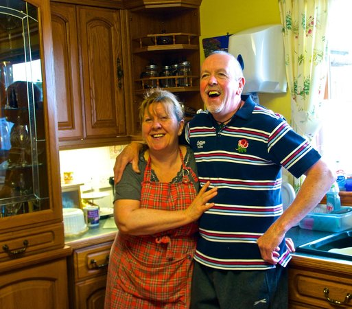 Braeside House : aileen and paul-our hosts