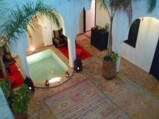 Riad Faiza & Spa-Hammam: le patio