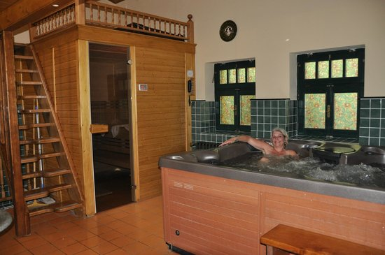 Grand Hotel Praha: Wellnes, sauna and wirlpool