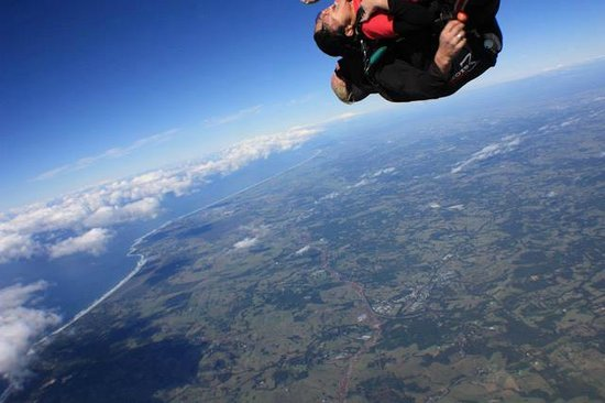 Skydive Byron Bay: THE moment!!