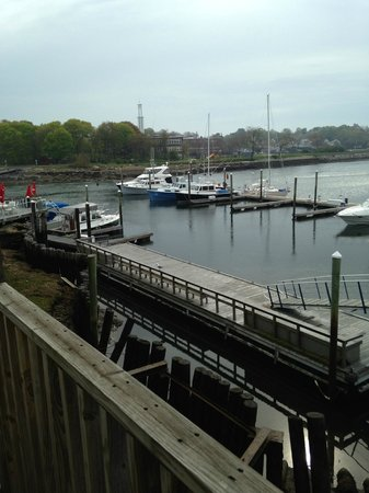 Cape Ann's Marina Resort: Harbor View from Rear Balcony