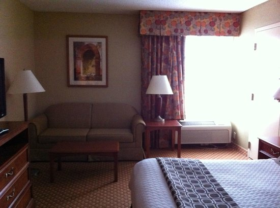 Crowne Plaza Hotel Cincinnati Blue Ash: Room 694 - king bed with sofa bed
