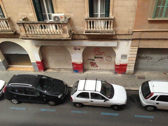 Hotel Abelux: Zona cutre