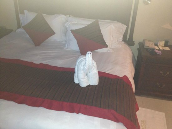 The Royal Playa del Carmen: Towel Animal