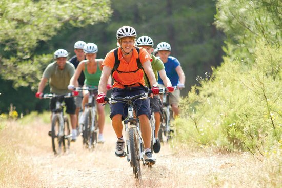 Club Adakoy Resort Hotel: Mountain biking ith Neilson guide in surrounding area