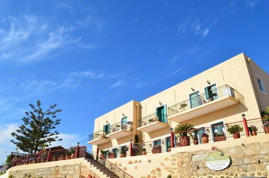 Kaliviani Traditional Hotel : vue générale de l'hotel