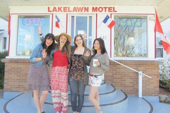 Lakelawn B&B Motel: Good Times