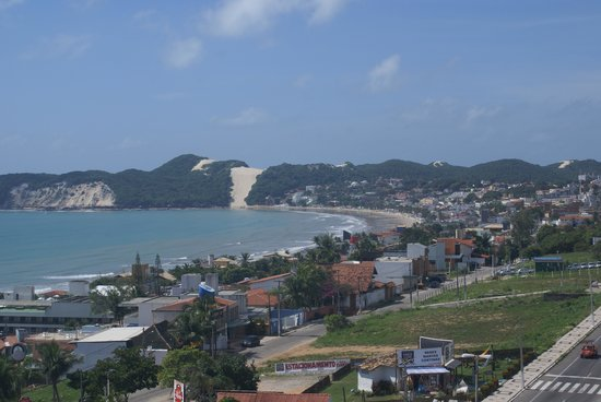 Best Western Premier Majestic Ponta Negra Beach: Vista da janela do quarto no 7o andar