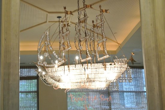 Chandelier - Picture of Cafe Adelaide & The Swizzle Stick Bar, New ...