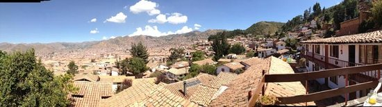 Samay Wasi Youth Hostels Cusco: Stunning views of the city