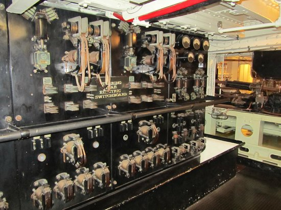 Queen Mary  Electrical Room