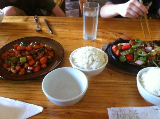 Yangshuo Village Retreat: Gorgeous food!