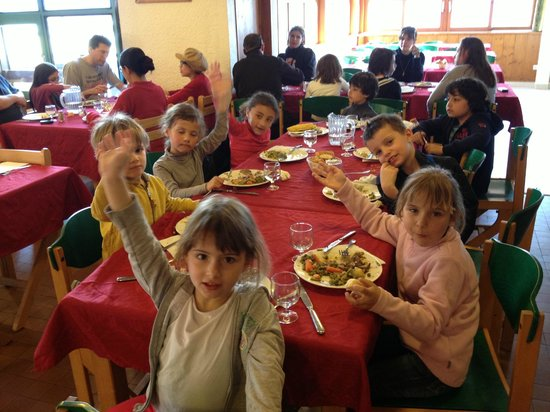 Les Flocons Verts : La table enfants