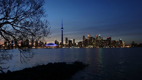 Toronto Islands Ferries: Twilight from Centre Island