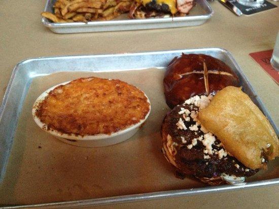Lamb burger picture of vinsetta garage berkley for Garage door repair berkley mi