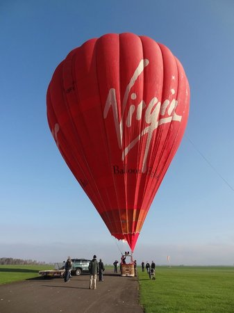 Virgin Balloon Flights: Virgin Flight Perth Scotland May 2013