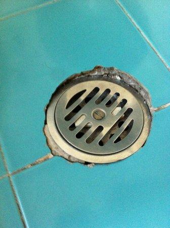 Hotel Palazzo Benci : Bonde salle de bain cassée