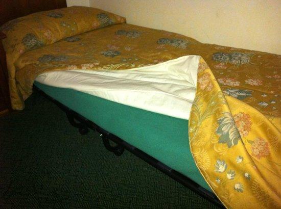 Hotel Palazzo Benci : Lit de camp à 20 € la nuit !