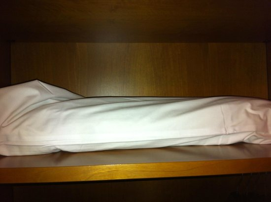 Hotel Palazzo Benci : oreiller supplémentaire hygiène douteuse