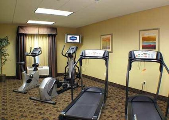 Hampton Inn & Suites - Merced: Hampton Inn and Suites Merced fitness center