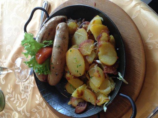 Restaurant & Café Hüttenklause Dorotheenhütte : piatto unico