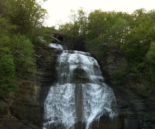 Seneca Lake Wine Trail: Montour Falls, NY 5/9/13