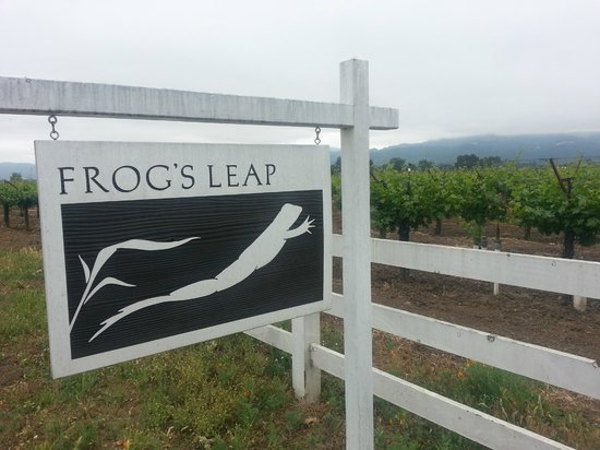 Frog's Leap Winery: Sign shot