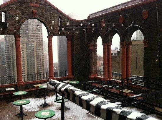 Pod 39 Hotel: Rooftop Terrace