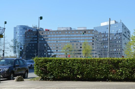 Novotel Marne La Vallee Noisy : View from outside