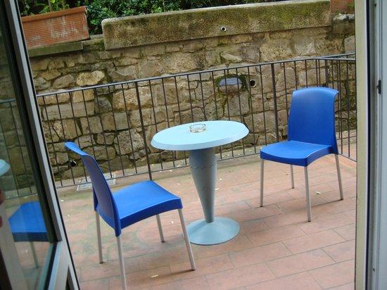 Hotel La Fortezza: Il terrazzino