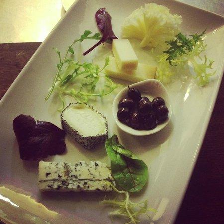 Chez Bruno : Cheese plate