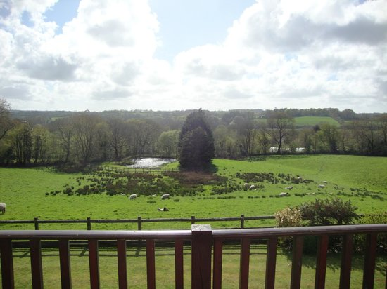 Stones Throw bed and breakfast: View from balcony