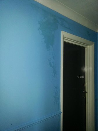 The Falmouth Townhouse: Damp in corridor