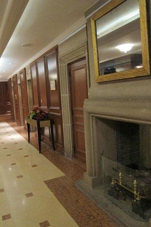 Warwick Brussels: lobby