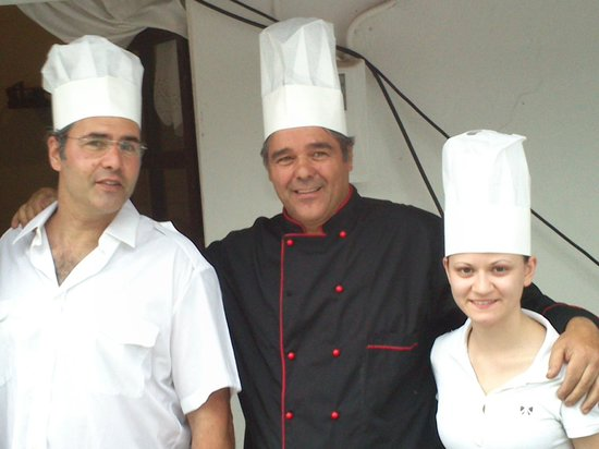 Mylos Old Mill: staff crew and chef