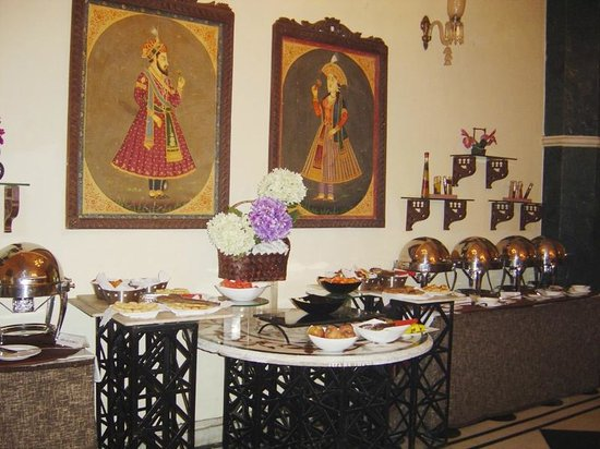 The Grand Imperial, Agra: Breakfast buffet