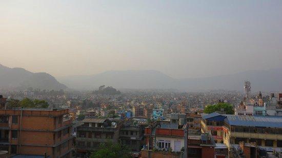 Hotel Yambu: Aussicht vom obersten Stock bzw. Dachterrasse
