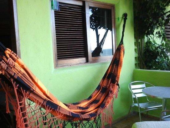 Bamboo Flat : Rede na varanda do flat