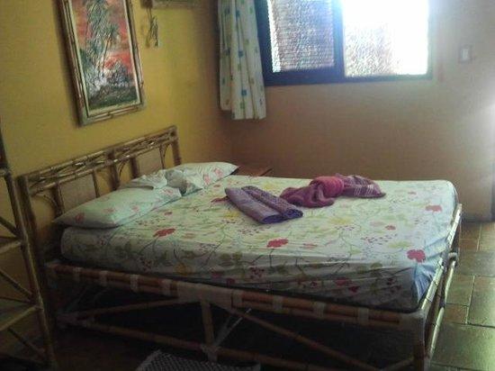 Bamboo Flat: Minha cama, excelente colchão.