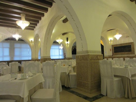 Carlos V Hotel: Dining room where breakfast is served