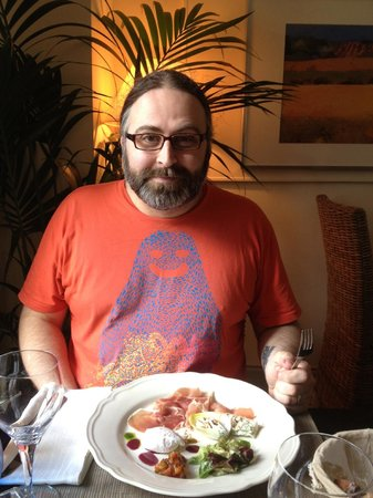 Mirabelle : the husband and his parma ham