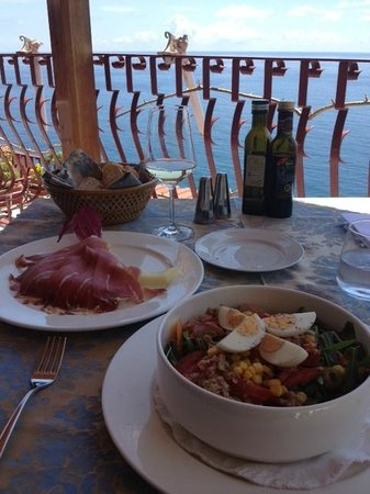 Adamo ed Eva by Eden Roc: Lunch on the Terrace
