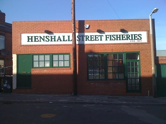 Henshall Street Fisheries, traditional, quality fish and chips.