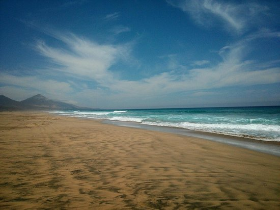 Morro del Jable, España: Playa de Cofete , Morro de Jable (Fuerteventura)