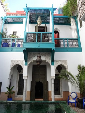 Riad Farnatchi: A view of our balcony