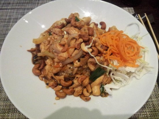 Ginger Asian Kitchen and Bar : Chicken with kashew