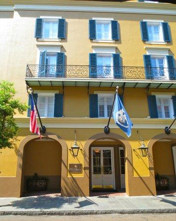 Street view of Hotel Mazarin